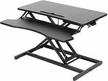 XQAQX Computer Desk, Modern Style Adjustable