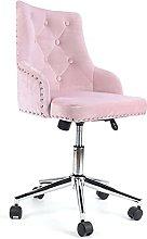 XQAQX Dressing Chair, Modern Velvet Fabric