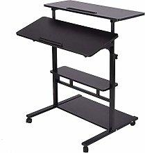 XQAQX Foldable Laptop Desk, Height Adjustable