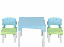 XQAQX Table and Chair Set,Childs Studying Table