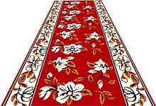 XQKXHZ Carpet Runners, 3D Traditional Red Print