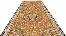 XQKXHZ Carpet Runners, Ethnic Style Orange Printed