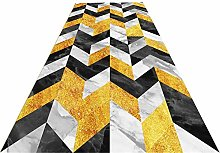 XQKXHZ Carpet Runners, Modern Geometric Patchwork