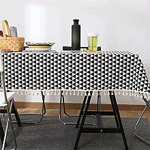 XQLSRJ Elegant And Luxurious Nordic Cotton Linen