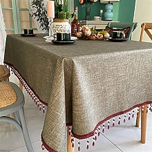XQLSRJ Lace Table Cloth Tablecloth Wipe Clean