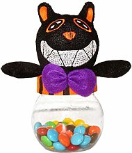 XQWR Halloween Candy Jar Chocolate Snack Cookie