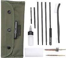 Xrten Gun Cleaning Kit Set 12 in 1, Portable Brush