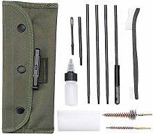 Xrten Gun Cleaning Kit Set 12 in 1, Portable Brush