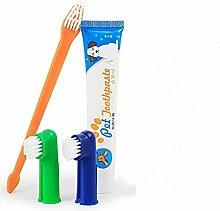 Xrten Pet Teeth Cleaning Kit, Pet Toothbrush and