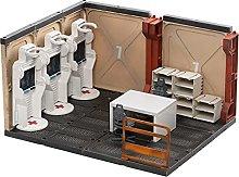 xSuper JOYTOY 1/18 Mecha Depot Medical Area Model