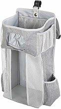 XSWL Baby Bed Diaper Bag Hanging Storage Bag