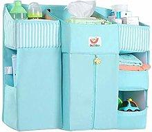 XSWL Portable Baby Crib Organizer Essentials