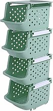 XT Fruit and Vegetable Rack Cupboard 3 Layers, 4
