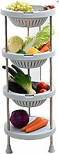 XT Fruit And Vegetable Rack Kitchen Shelf 3