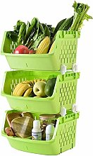 XT Fruit and Vegetable Rack Kitchen Storage Rack
