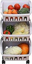 XT Fruit Vegetable Storage Rack Kitchen Storage