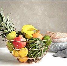 XT Geometric Design Wire Fruit/Vegetable Basket