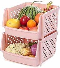 XT-Vegetable rack Kitchen Shelf Multi-Layer Basket