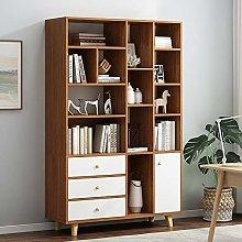 XTLXA Storage Shelf Wooden Tall Bookshelf Shelving