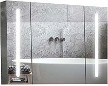 XTLXA Wall Mounted Cabinets LED Lighted Bathroom