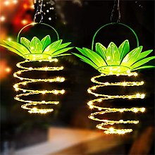 XTONG Pineapple Solar Lights String Outdoor