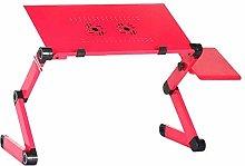 XTR Two Fan Lap Desks Portable Adjustable Foldable