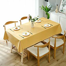 XTUK Home Decoration Tablecloth solid color PVC