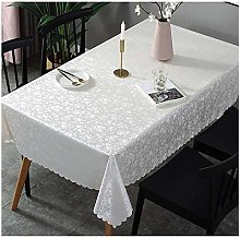 XTUK Pvc Plastic Wipe Clean Tablecloth Home