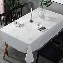 XTUK Silver Tablecloth Plastic Tablecloth Wipe
