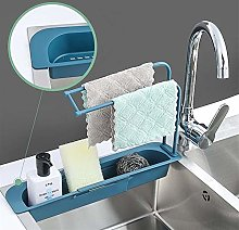 XU TAO Telescopic Sink Storage Rack Telescopic