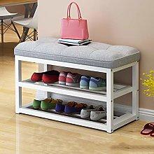 Xuanguan Shoes Bench Double Shoe Rack Shoe Bench