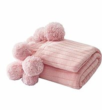 XUE-BAI 100% Cotton Fashion Knitted Throw Blanket