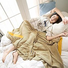 XUE-BAI Cable Knit Throw Blanket 130x180cm All