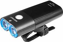 Xuebai Bike Head Lights Waterproof USB Charging