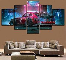 XUEI Dutsun 280z Car Print Painting Canvas 5
