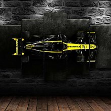 XUEI Formula 1 Renau F1 Racing Print Painting
