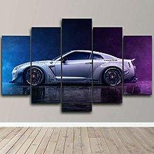 XUEI Niss Skyline GTR Super Sports Car Print