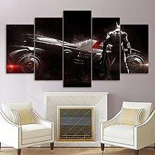 XUEI Print Painting Canvas 5 Pieces batman knight