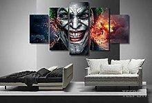 XUEI Print Painting Canvas 5 Pieces Destructive