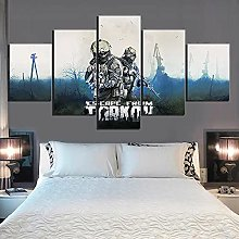 XUEI Solider Picture Print Painting Canvas 5