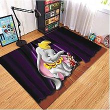 Xuejing Carpet Cartoon Anime Dumbo Short Pile