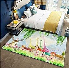 Xuejing Long Carpet Living Room Bedroom Bedside