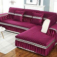 XUELIAIKEE Sectional Sofa Cover,velvet Sofa Covers