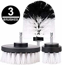 Xueliee 3pcs Drill Cleaning Brush Scrubber Brush