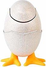 XUENING Creative Egg Shell Shape Rubbish Bin Mini