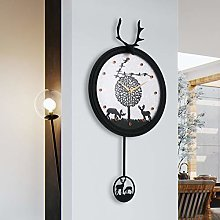 XUEXIONGSP Grandfather clock Modern wall clock