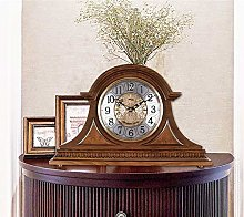 XUEXIONGSP Mantel Clocks Wood Mantle Clock with
