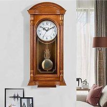 XUEXIONGSP Pendulum Wall Clock Grandfather Wall