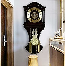 XUEXIONGSP Pendulum Wall Clocks,Chime Clocks with
