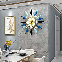 XUEXIONGSP Starburst wall clock, 3D Sunburst Metal